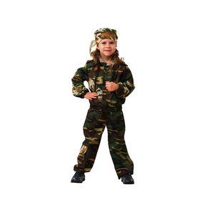 Карнавальный костюм «Спецназ», размер 32, рост 122 см
