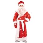 Детский карнавальный костюм «Дед Мороз», мех, размер 34, рост 128 см