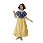 Карнавальный костюм «Принцесса Белоснежка», бархат, размер 32, рост 122 см - фото 1717611