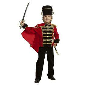 Детский карнавальный костюм «Гусар», бархат, размер 36, рост 146 см