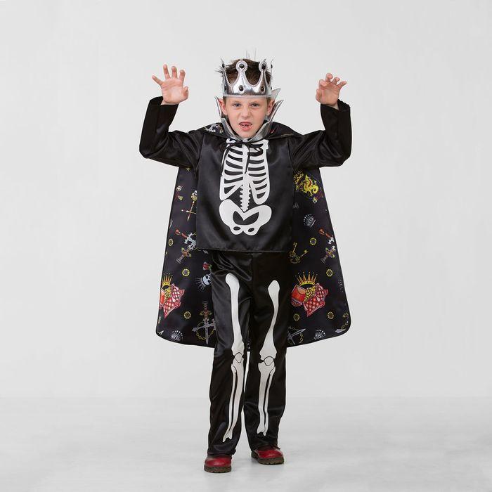 Карнавальный костюм «Кощей Бессмертный сказочный», сатин, размер 28, рост 110 см