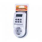 Розетка-таймер Elektrostandard TMH-E-4 ES, электронная, 10 программ, IP20