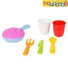 "Набор посуды ""Вкусно готовим-1"", 6 предметов, цвета МИКС"