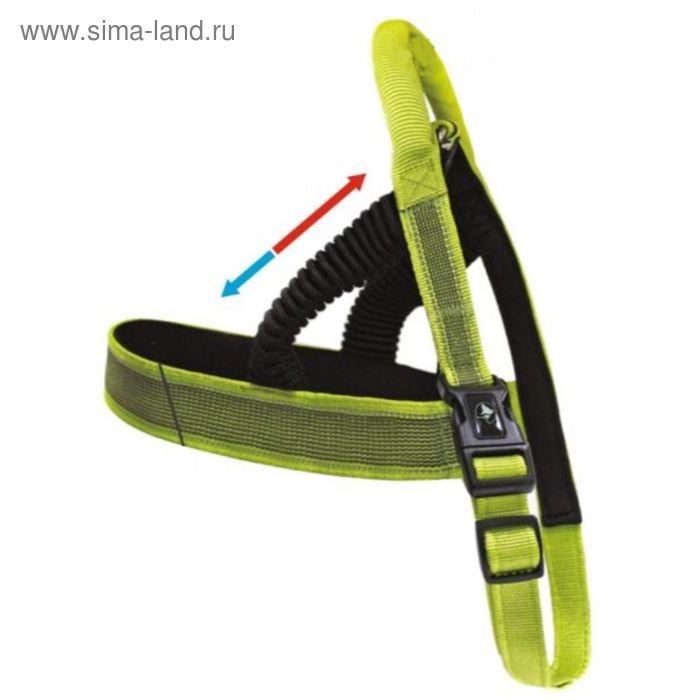 Шлейка пружин. Hiking Venture многофункц. с эргон.ручкой, 15x540-600 мм, зеленый