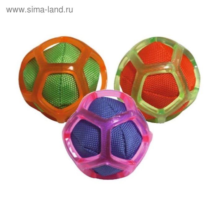 """Игрушка для собак """"Blasting Мяч в сетке"""", со звук., диам.8 см, термопласт.резина, цвет в ассорт.   2"""