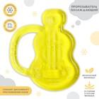 Прорезыватель с водой «Гитара», цвета МИКС