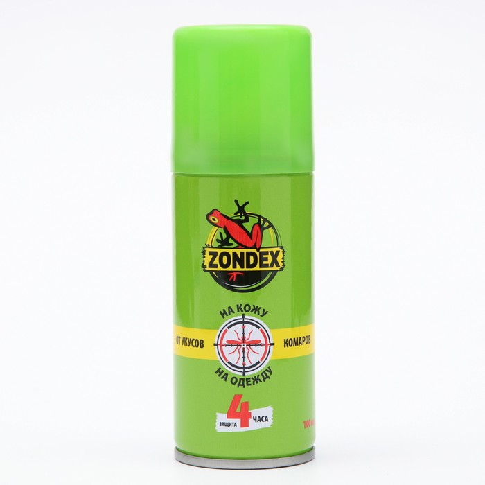 Аэрозоль ZONDEX активная защита, 100 мл - фото 4664356