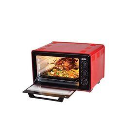Мини-печь Akel AF-740, объем 36 л, красный