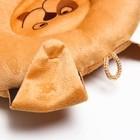 Подушка дорожная детская «Щенок» ортопедическая, цвет бежевый - фото 105547376