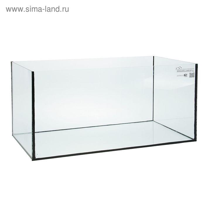 Аквариум прямоугольный 250 л, без крышки, толщина стекла 6 мм (Уценка)