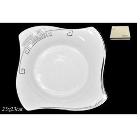 Глубокая тарелка Givanchi Platinum, d=23 см, в подарочной упаковке Ош