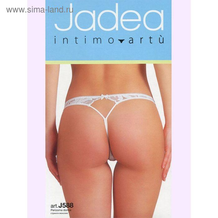 Трусы женские JADEA 588 perizoma цвет bianco, размер 3