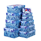 """Набор коробок 10 в 1 """"Снегири"""" (12 х 7 х 4 см - 32,5 х 20 х 12,5 см)"""