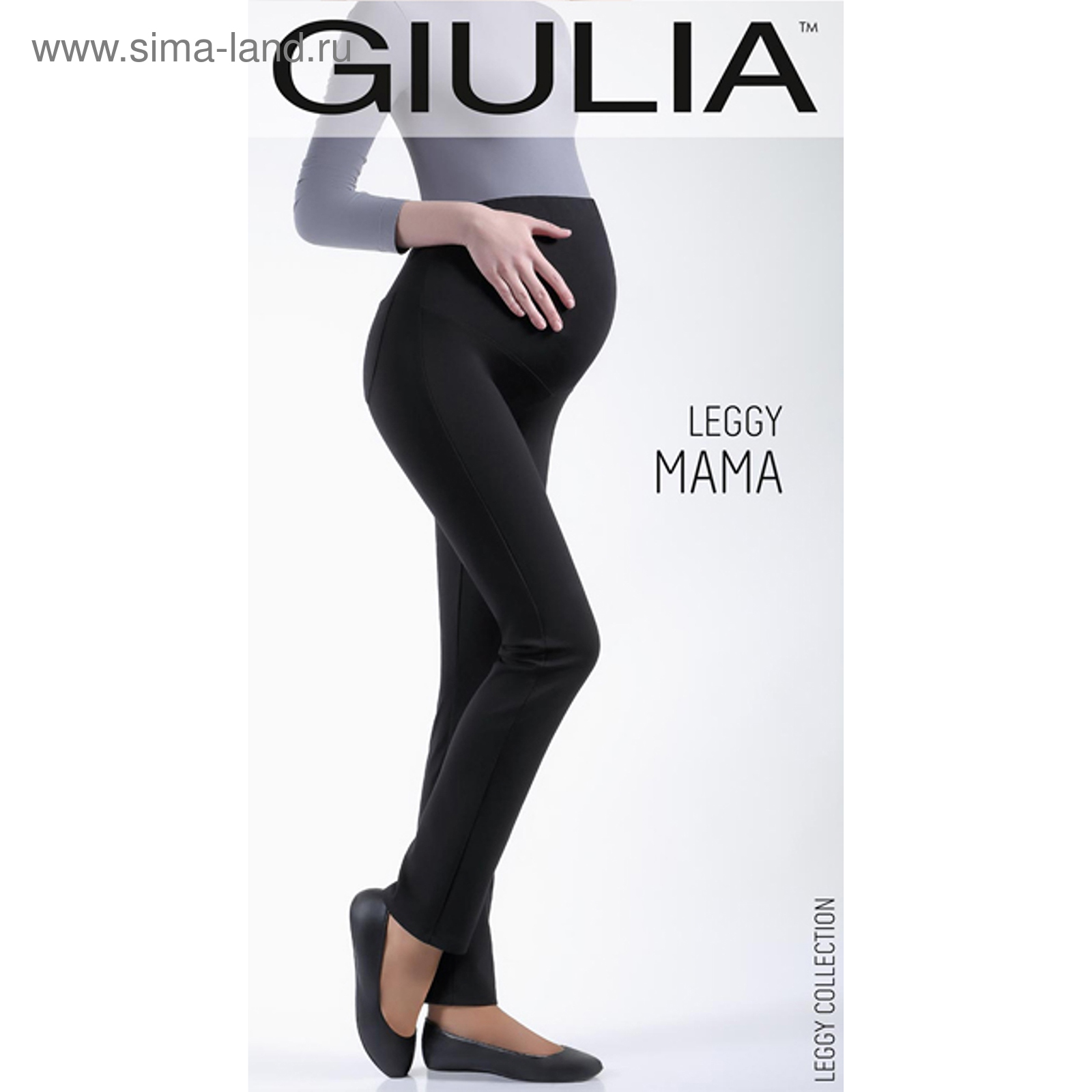 Леггинсы для беременных LEGGY MAMA 01 цвет nero, размер L (617753 ... 333d5309253