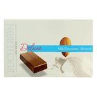 "Шоколад ""Bucheron Deluxe"" молочный с миндалем в картоне 95 гр"
