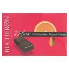 """Шоколад """"Bucheron Deluxe"""" горький с миндалем и апельсином в картоне 95 гр"""
