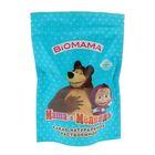 """Какао""""Маша и медведь""""Biomama натуральное растворимое в дой-паке  150 г"""