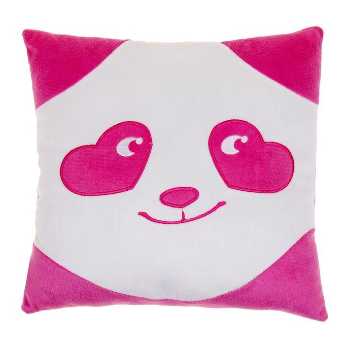 """Подушка """"Панда - смайл влюбленный"""""""