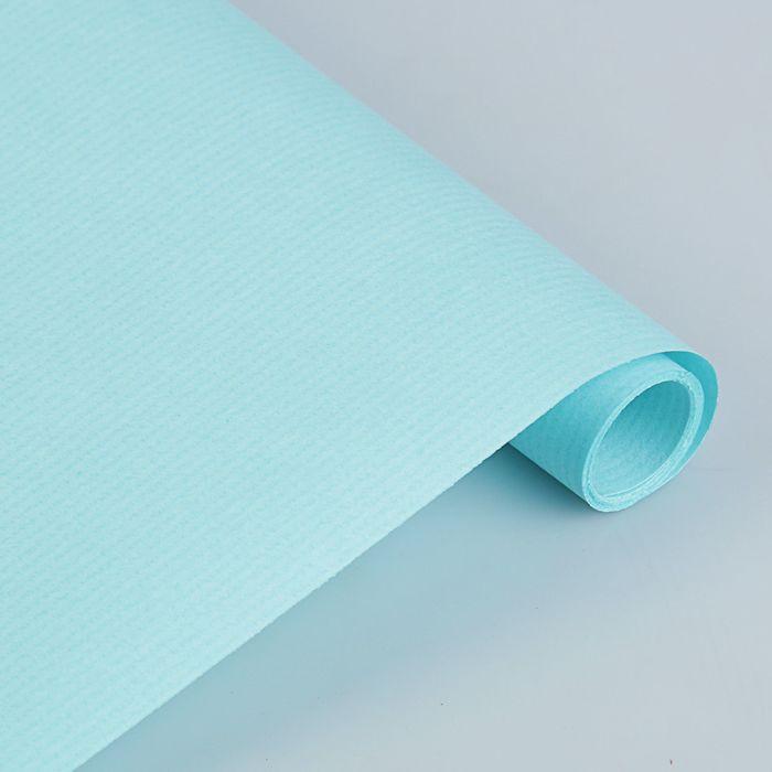 Крафт-бумага, 500 х 2000 мм, Sadipal, 65 г/м2, бирюзовый - фото 373640253