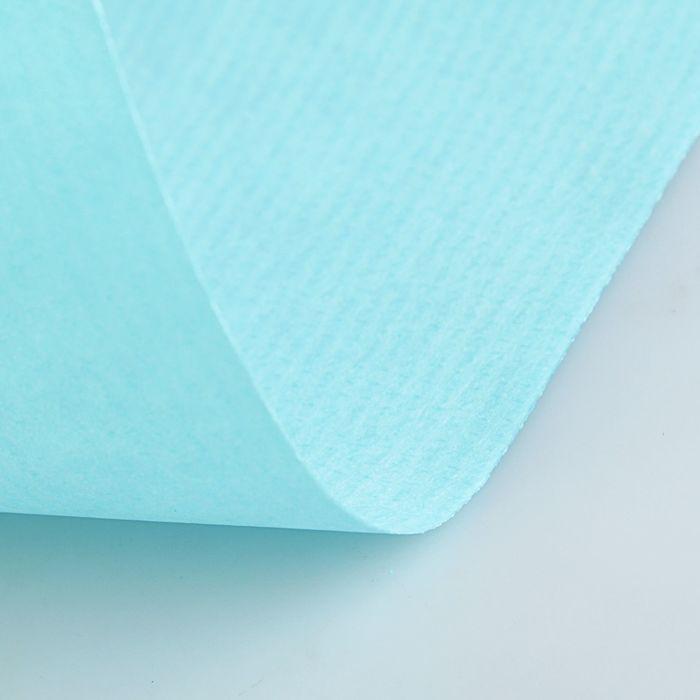 Крафт-бумага, 500 х 2000 мм, Sadipal, 65 г/м2, бирюзовый - фото 373640254