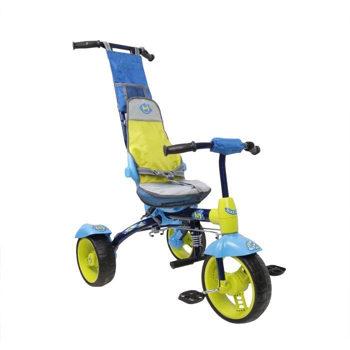 Велосипед трехколесный Nika ВД3, 2017, цвет синий
