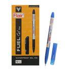 Ручка гелевая Flair Fuel узел-игла 0.3-0.5мм, водоустойчивая, мягкое письмо, стержень синий F-879