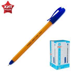 Ручка шариковая Flair Jet-Line Orange, узел-игла 0.5 мм, масляная основа, стержень синий