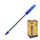 Ручка шариковая Flair X-6 узел-игла 0.6мм, масляная основа, стержень синий F-741