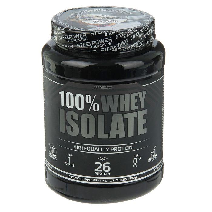 Протеин 100 % whey ISOlate черничный маффин 900 гр