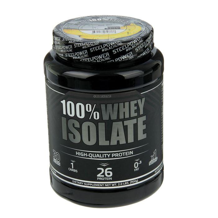 Протеин 100 % whey ISOlate банан 900 гр