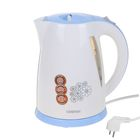 Чайник электрический Centek CT-1006 LB, 2200 Вт, 1.7 л, бело-голубой