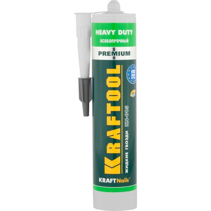 Клей KRAFTOOL KraftNails Premium KN-905, монтажный, особопрочный, без растворителей, 310мл