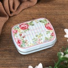 "Jewelry box metal ""Shabby chic"" MIX 1,5х6х5 cm"