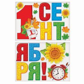 """Набор для оформления """"1 сентября"""""""