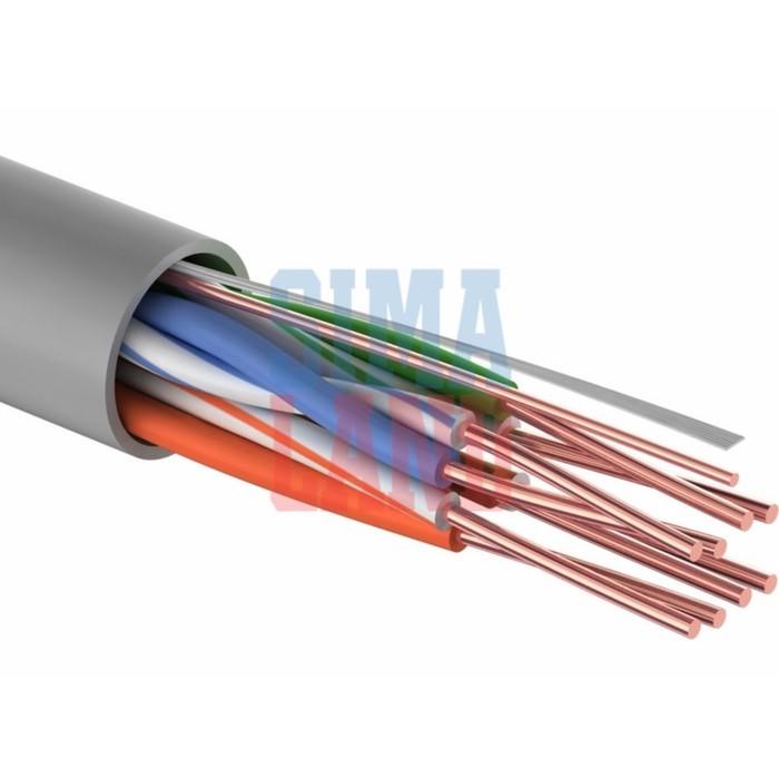 Кабель Cablexpert UTP, CAT5e, CCA, 4 х 2 х 0.40 мм, 305 м, серый, PC-UPC-5040E-SOL