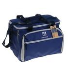 """Рюкзак-холодильник """"Арктика"""", 22 л, с набором посуды для пикника на 6 человек, цвет синий"""