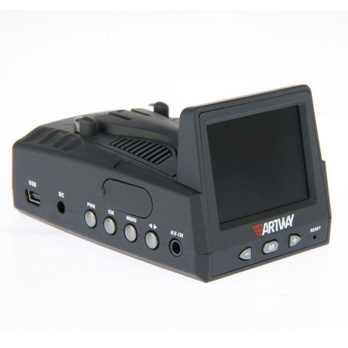 Видеорегистратор с радар-детектором Artway MD-103, 5 в 1