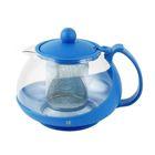 KTZ-075-002 Чайник заварочный Irit Синий, 0.75 л