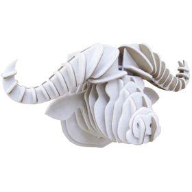 Картонный 3D-конструктор «Голова Африканского буйвола»