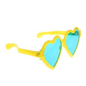 Очки-гиганты «Сердечки», цвета МИКС