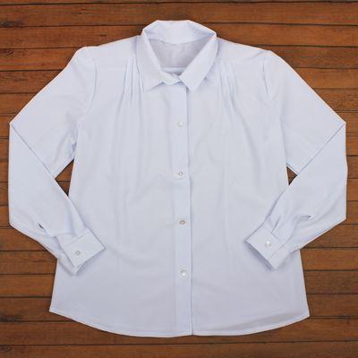 Блузка для девочки, рост 164 см, цвет белый