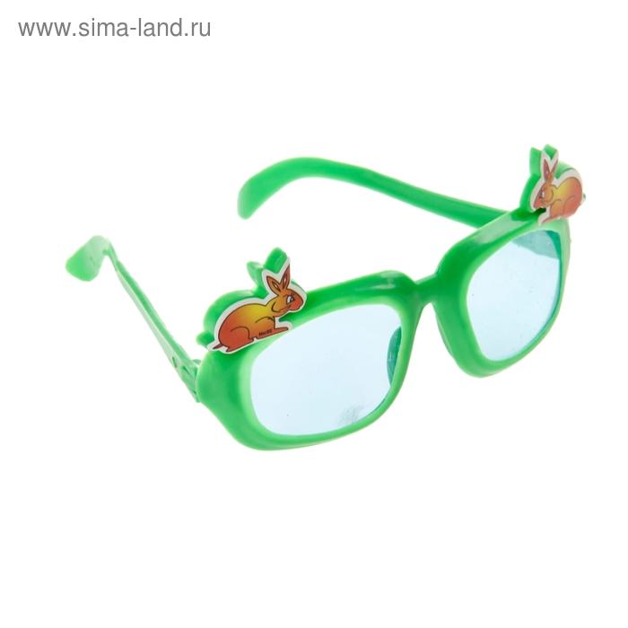 """Карнавальные очки детские """"Звери с улыбкой"""""""