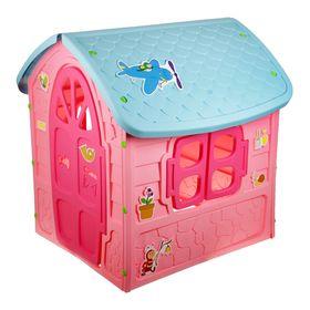 Детский игровой домик, цвет розовый Ош