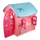 Детский игровой домик, цвет розовый - фото 965871