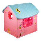 Детский игровой домик, цвет розовый - фото 965872