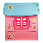 Детский игровой домик, цвет розовый - фото 965873