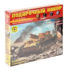 """Сборная модель """"Немецкое самоходное орудие Штурмпанцер II Бизон"""" (1:35)"""