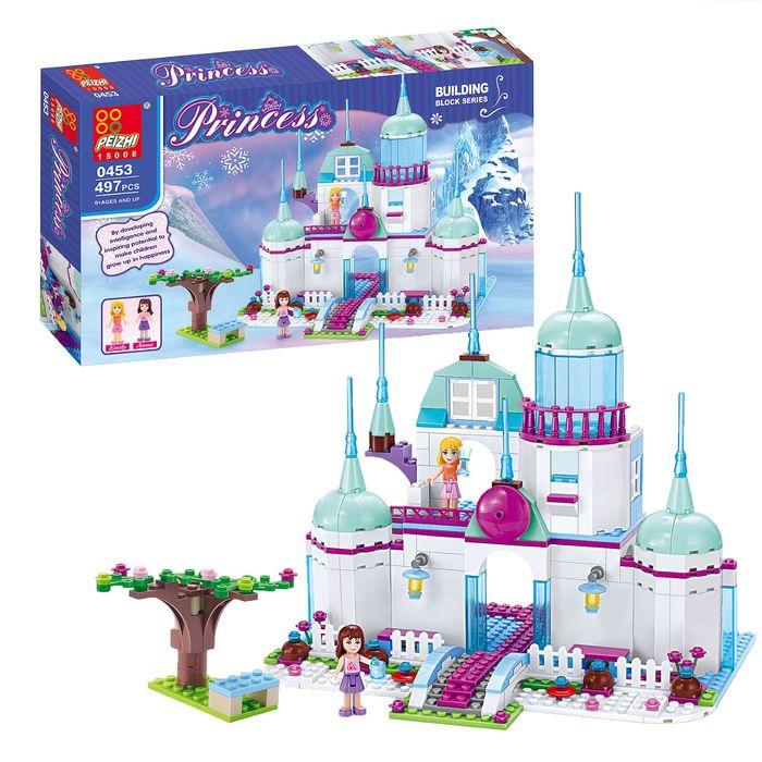 Конструктор «Замок принцессы», 497 деталей