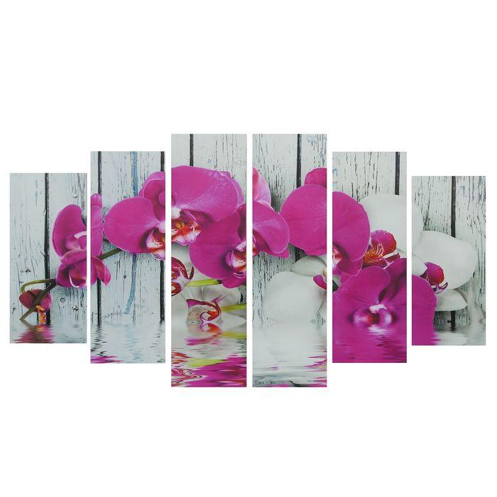 """Картина модульная на подрамнике """"Орхидея фаленопсис""""  150*84 см - фото 1718689"""