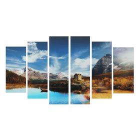 """Картина модульная на подрамнике """"Природная красота"""" 2-25*57,5;2-25*74,5;2-25*84,5. 150*84см"""